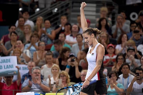 Karolina Pliskova Cornet WTA Brisbane