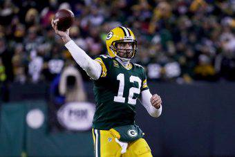 Aaron Rodgers quarterback dei Packers