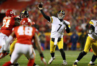 Ben Roethlisberger Kansas City Chiefs - Pittsburgh Steelers Playoff nfl