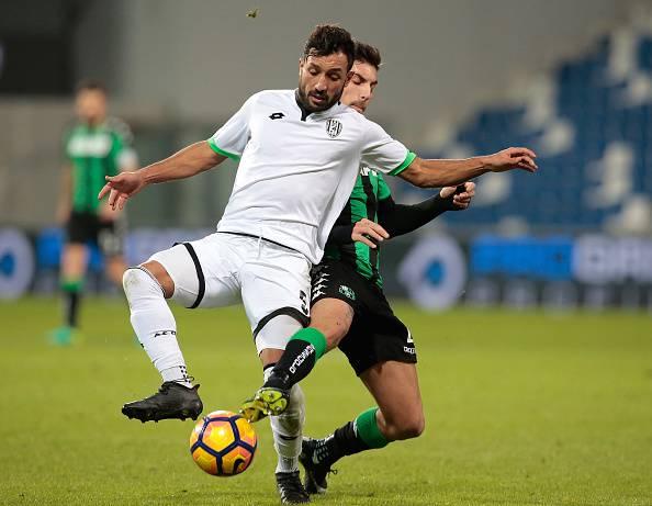 Karim Laribi e Lorenzo Pellegrini Sassuolo Cesena Coppa Italia