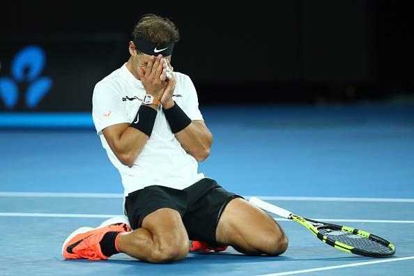 Nadal Raonic Australian Open 2017