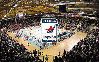 logo superlega volley