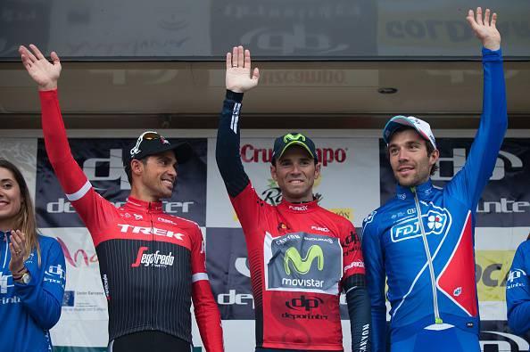 Ciclismo, primo podio stagionale per Fabio Aru: 3° al Giro dell'Oman