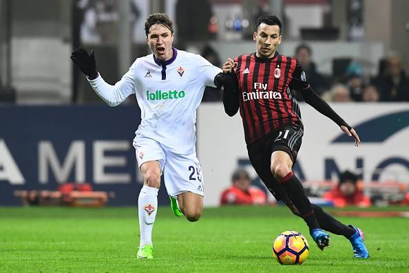 Serie A, vittoria fondamentale per il Milan. Battuta 2-1 la Fiorentina