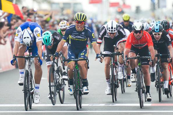 Abu Dhabi Tour 2017, 2^ tappa: Kittel si prende la rivincita. Cavendish leader