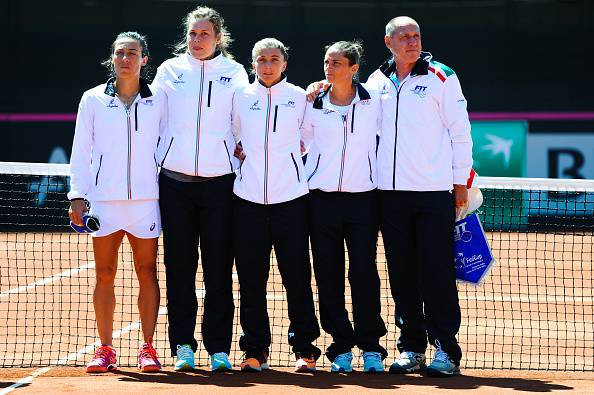 Tennis-Fed Cup, Sara Errani sorprende: