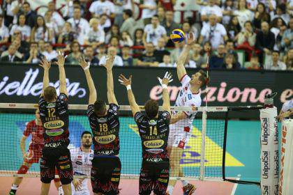 Perugia Trentino Superlega Playoff