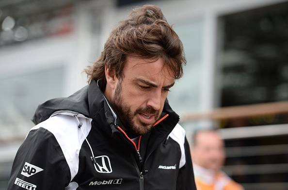 Alonso Mercedes