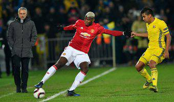 Paul Pogba Manchester United Europa League