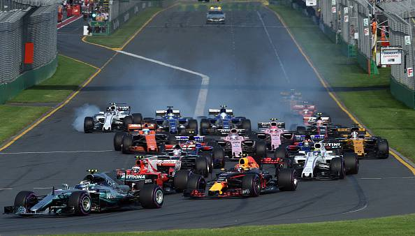 Formula 1 2017 GP Australia