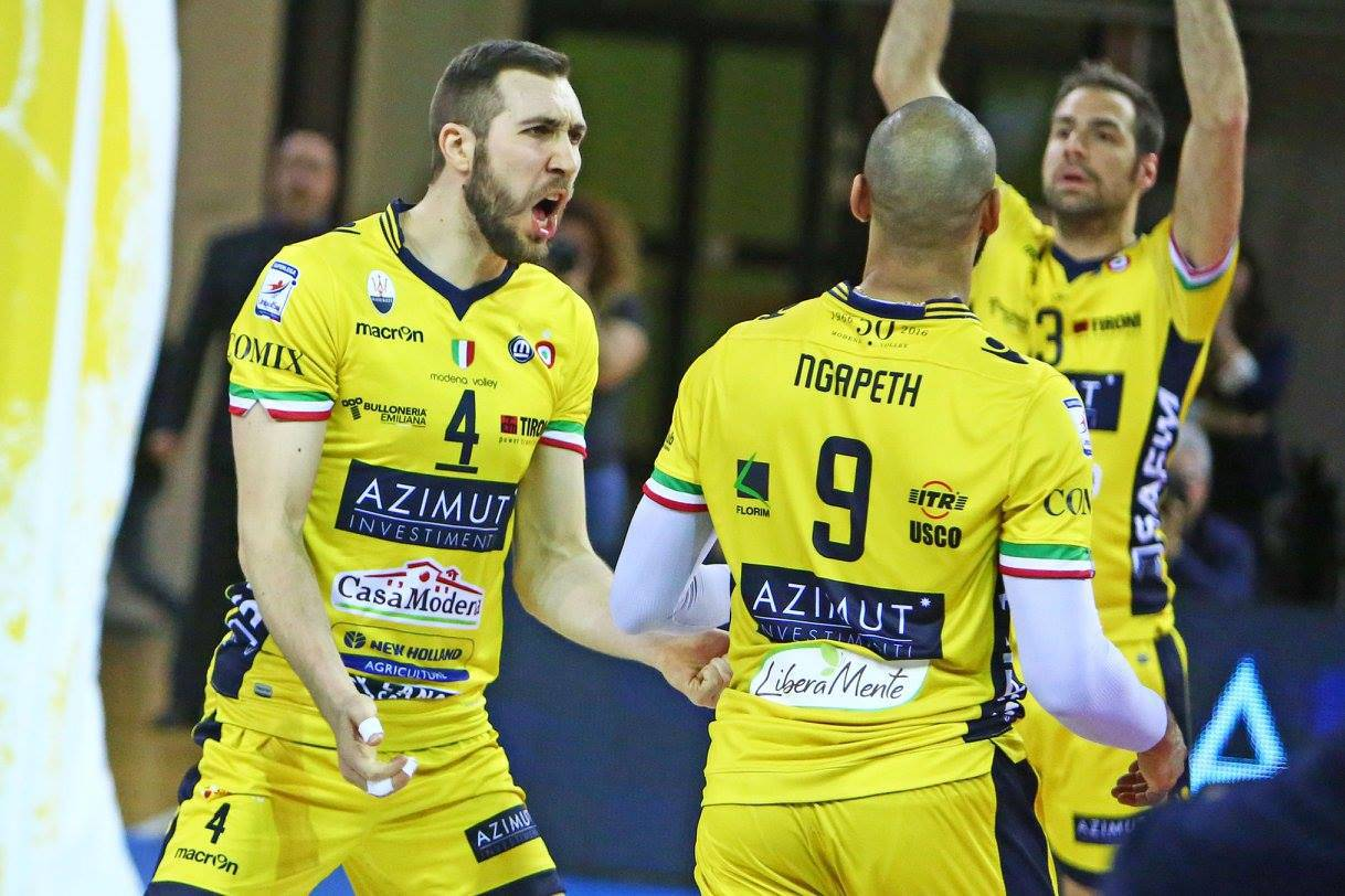 modena verona gara 3 volley