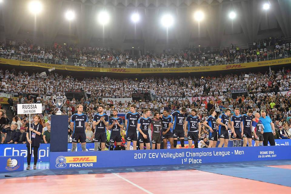Volley, Champions League M: Kazan troppo forte. Perugia sconfitto in finale