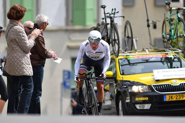 Giro di Romandia 2017, 5^ tappa: Roglic vince la cronometro. Porte beffa Yates