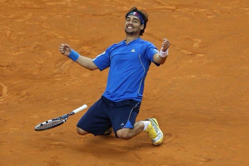 Fabio Fognini batte Rafa Nadal a Montecarlo. E' in finale