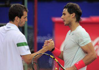 Albert Ramos Vinolas e Rafael Nadal