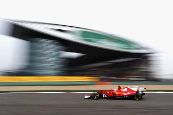 Kimi Raikkonen GP Cina