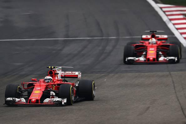 Ferrari Vettel Raikkonen GP Cina