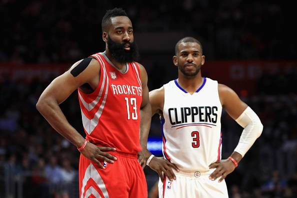 James Harden e Chris Paul