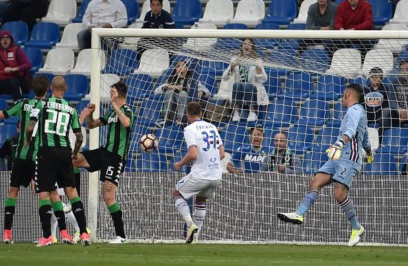 Serie A, Schick illude la Sampdoria. Il Sassuolo rimonta e vince