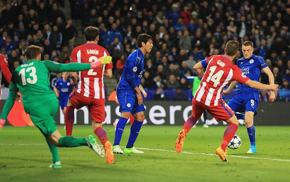 Leicester Atletico Madrid