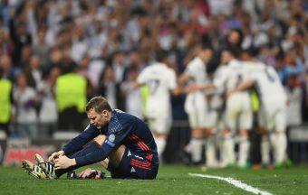 Manuel Neuer real madrid frattura