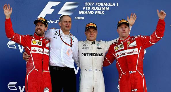 """F1, GP Russia, Vettel: """"Oggi è la giornata di Bottas"""". Raikkonen: """"Terzo posto non basta"""""""