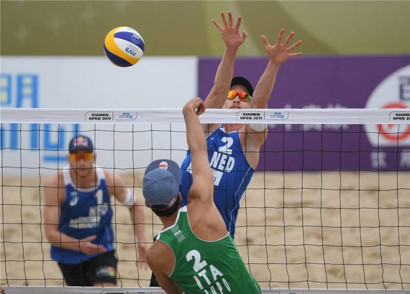 Beach volley, Italia-Olanda: è medaglia d'argento!