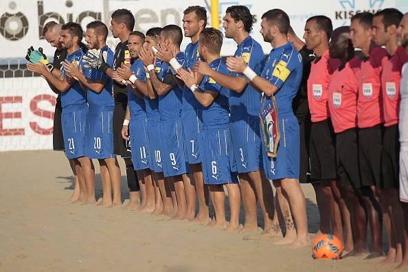 Mondiali beach soccer, buona la prima per l'Italia