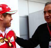 Vettel e Marchionne