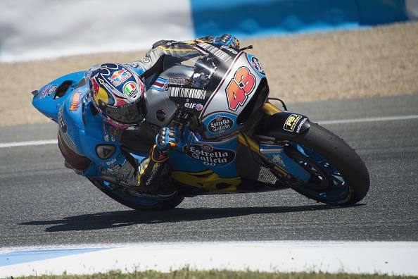 MotoGP Francia, Dovizioso domina le Libere 2 sotto la pioggia