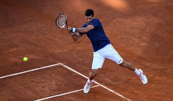 Novak Djokovic internazionali d'italia 2017