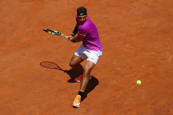 Rafael Nadal internazionali d'italia 2017