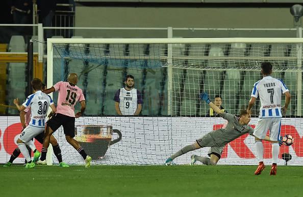 Serie A: il posticipo della 37a giornata va al Pescara, Palermo ko