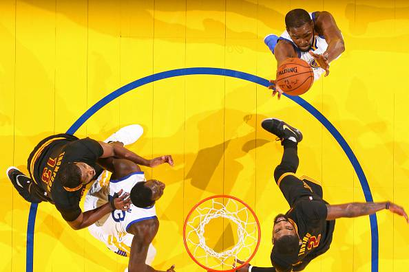 Finals NBA, Durant trascina i Warriors. Golden State conquista il titolo