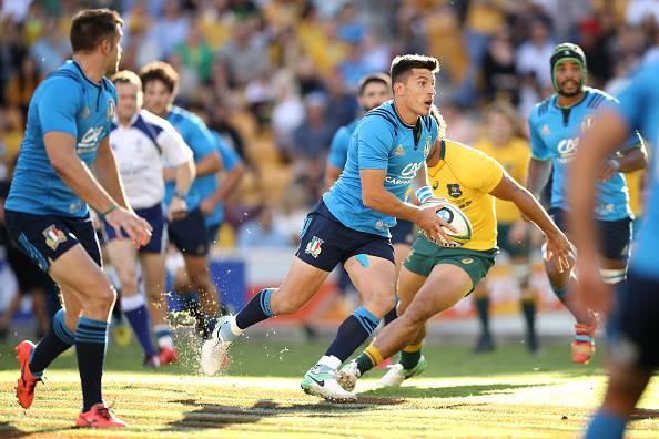 Rugby, Australia-Italia: impresa solo sfiorata: che gara di Allan