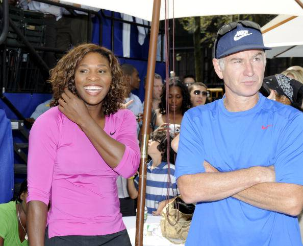 Tennis, McEnroe a Serena Williams: