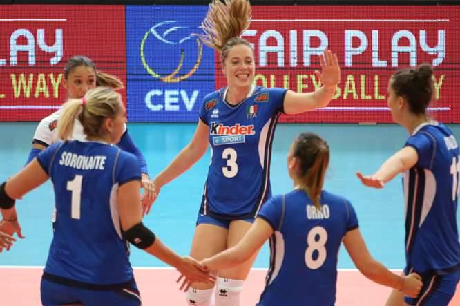 Qual. Mondiali 2018, l'Italia piazza il tris. Lettonia ko in tre set
