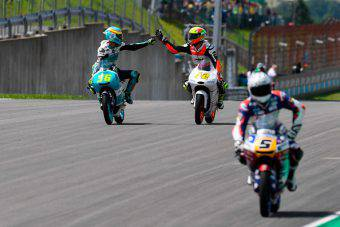 Moto3: a Jerez vince Arenas. Al terzo posto c'è Arbolino