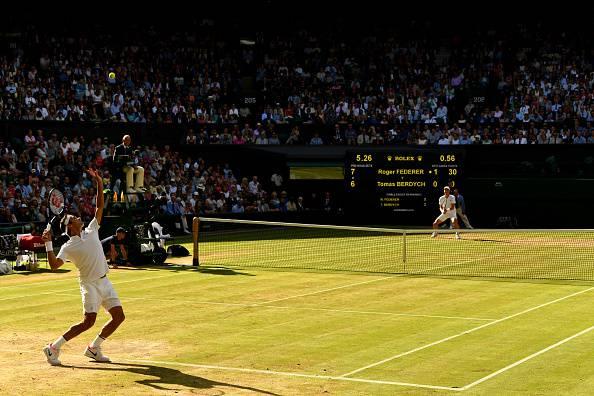 Federer Berdych wimbledon