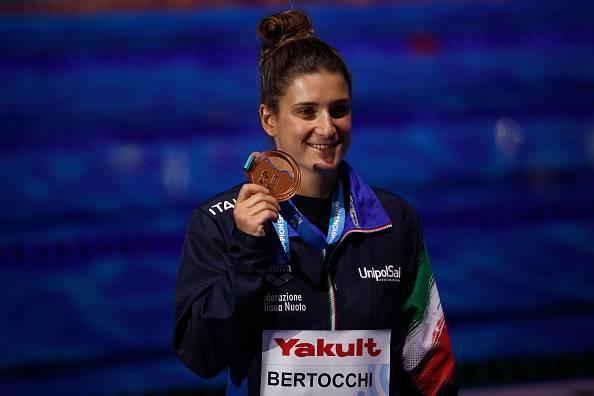 Elena Bertocchi mondiali nuoto budapest