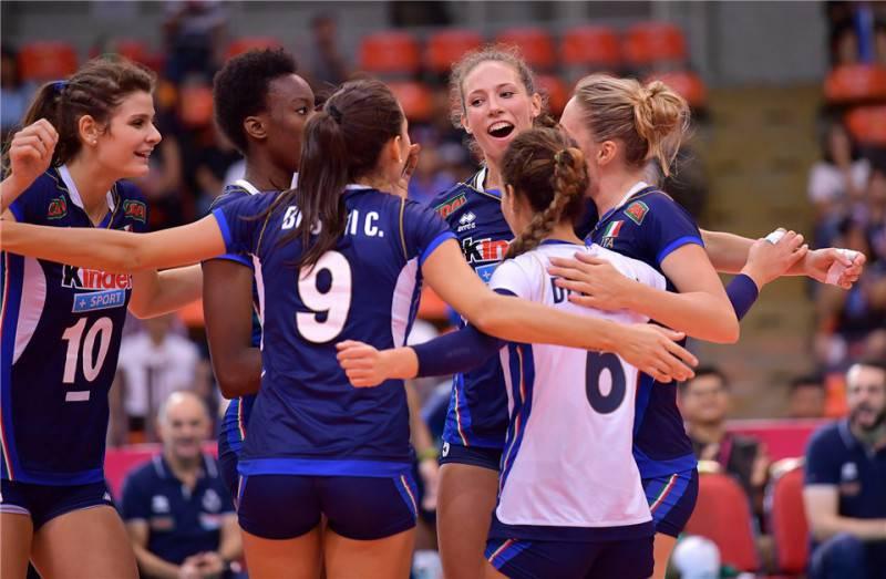 Volley, l'Italia non delude: approdo alle Final Six del Gran Prix 2017