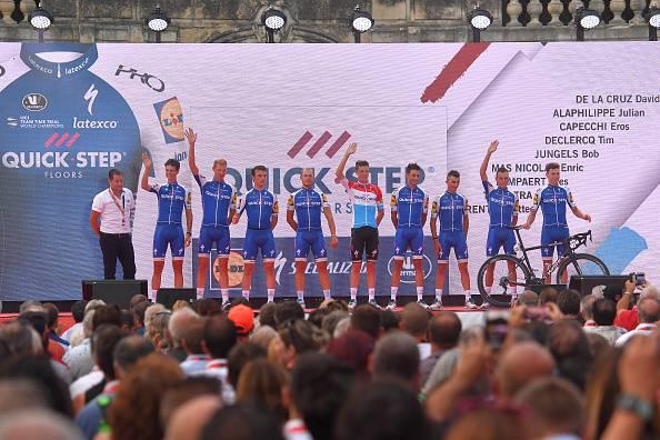 Vuelta a España 2017, tappa e maglia a Lampaert. Nibali guadagna 8 secondi