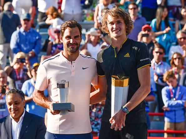 Zverev e Federer