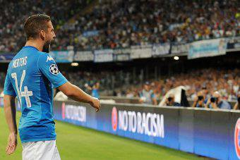 mertens napoli nizza champions league