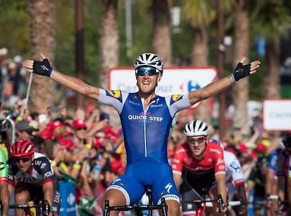 Vuelta: la quarta tappa parla ancora italiano, vince Matteo Trentin