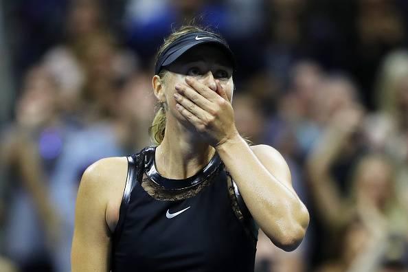 Maria Sharapova halep us open 2017