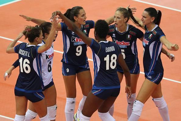 Europei Volley femminili 2017: esordio positivo per le azzurre, 3-0 alla Georgia