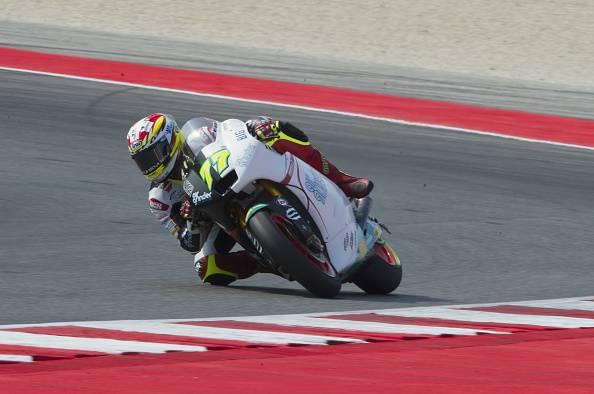 Moto2 Misano Prove 1 Alex Marquez miglior tempo e caduta