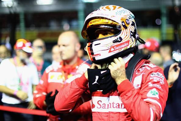Sebastian Vettel gp singapore