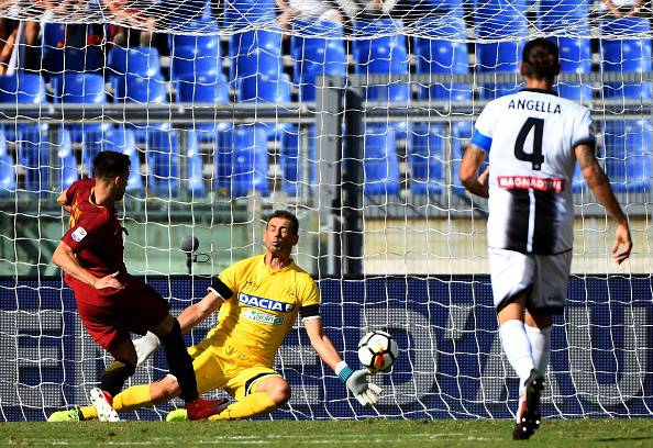 Serie A: tris Roma all'Udinese, finisce 3-1. Doppietta El Shaarawy